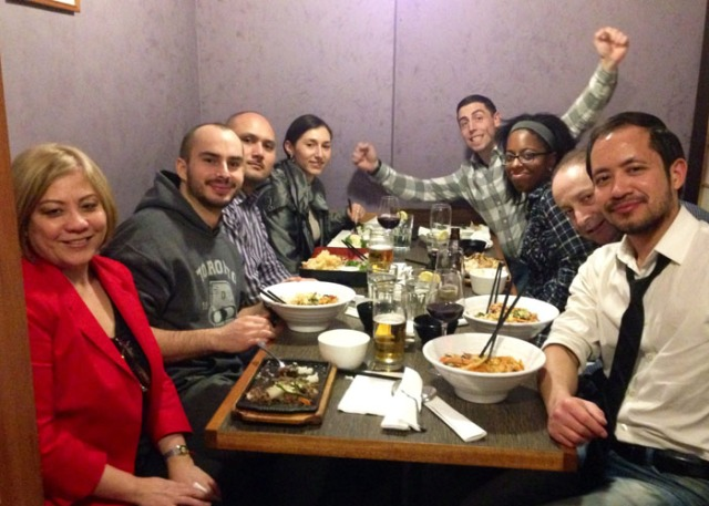 14 Feb 3 Sushi